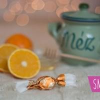 Mézes-narancsos szaloncukor, ahogy én készítettem
