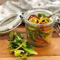 Egzotikus kuszkusz-saláta a nyári alakért