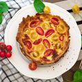 A franciák sós pitéje: quiche házilag
