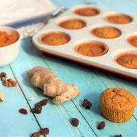 Gyömbéres sütőtökös muffin Smarta konyhájából