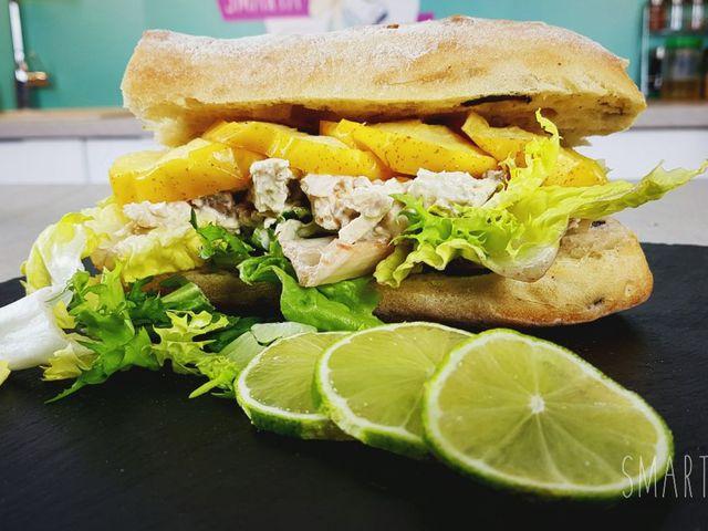 Csirkesaláta szendvics maradékból