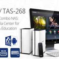 Új Android alapú QNAP NAS - 4K HDMI csatlakozással