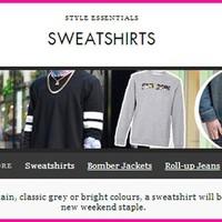 ASOS.COM - SWEATSHIRTS'TREND