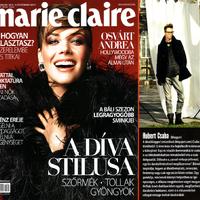 Megjelent a februári Marie Claire-ben a Street Fashion Budapest cikk