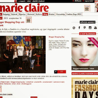MARIE CLAIRE.HU- BLOGGERSHOPPING DAY