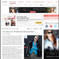REFINERY 29.COM - THE WORLD'S BEST DRESSED MEN / Fashion Week /