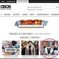 ASOS trendajánlójában
