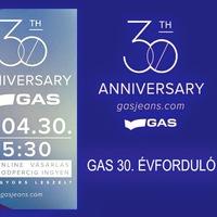 30 ÉVES A GAS Jeans