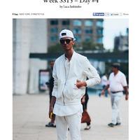 FUCKINGYOUNG street fashion- NEW YORK FASHION WEEK