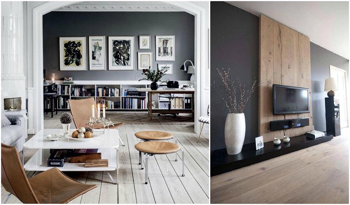 Hogyan dekoráljuk otthonunkat mély színekkel