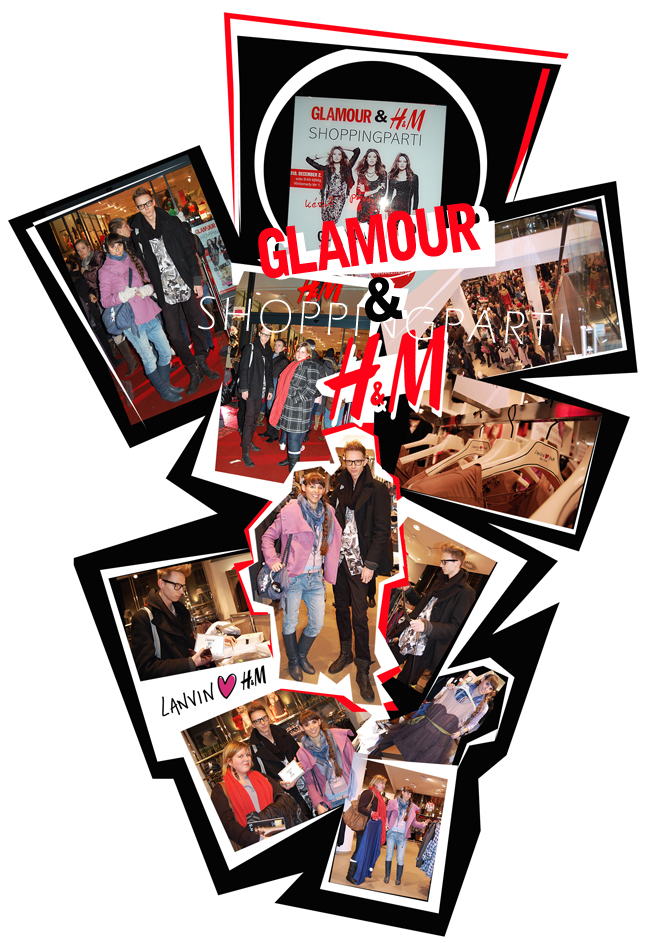 Glamour és H&M shoppingparti