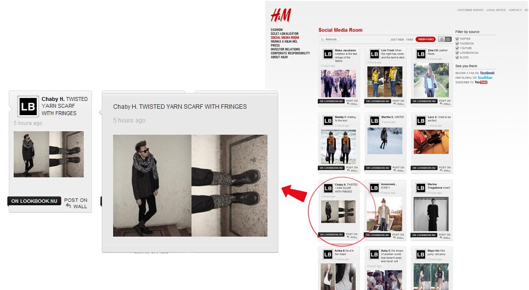 Újra a H&M oldalán!