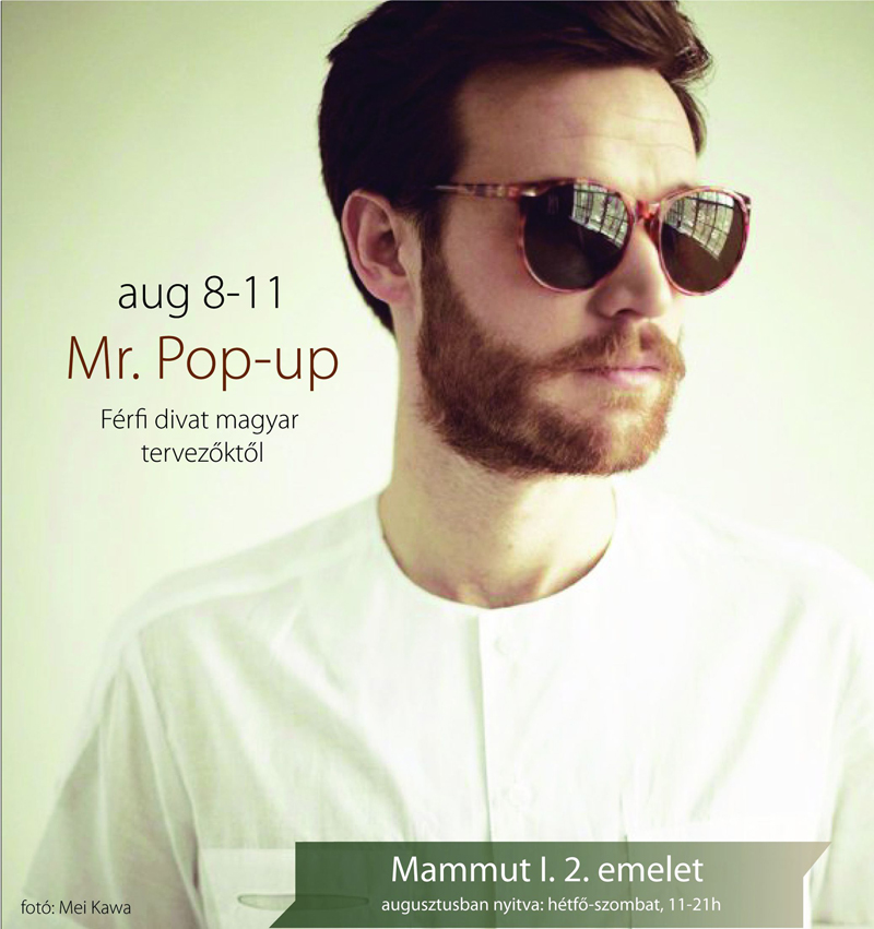 Mr. Pop-Up az OurStyle Boutique-tól
