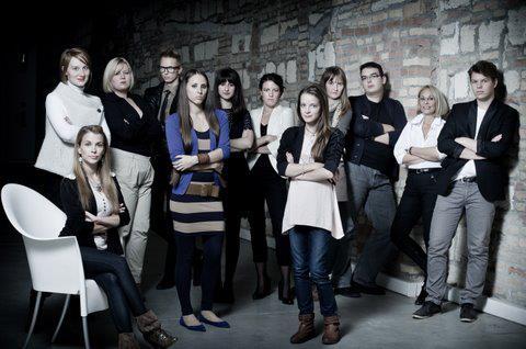 A Divatbloggerek egy közös fotózáson