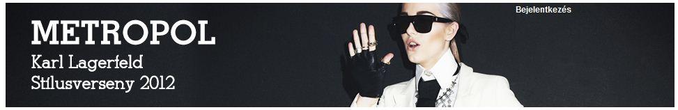 Karl Lagerfeld stílusverseny 2012