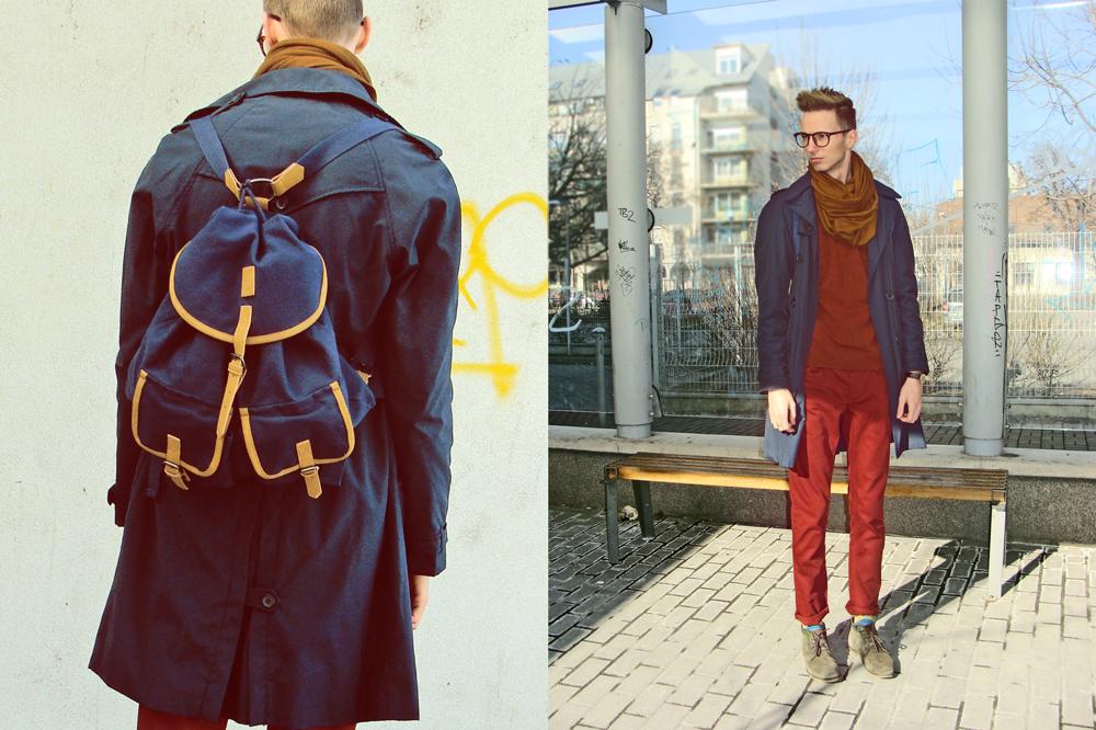 ◄ O U T F I T  2 0 1 2 . 0 5. 1 3. with backpack