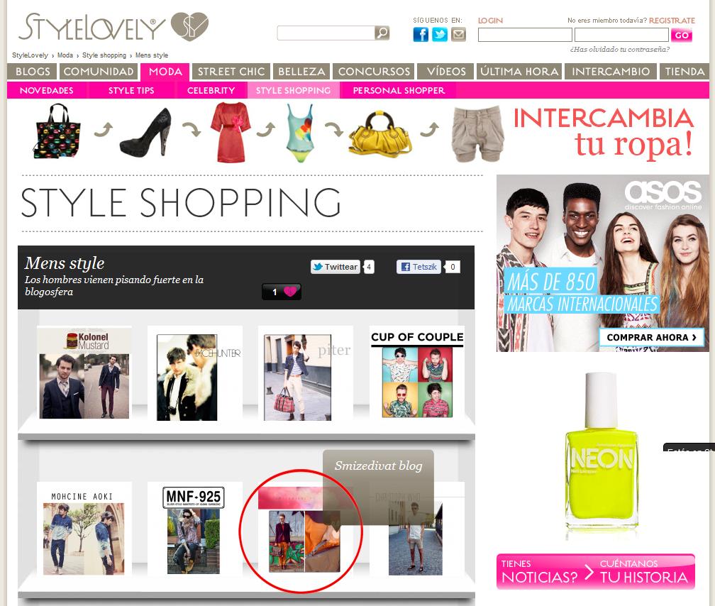 Stylelovely.com kedvenc blogjának választotta az enyémet