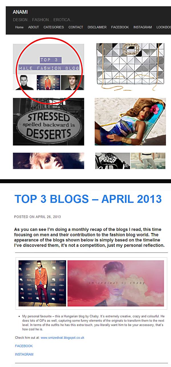 TOP 3 férfiblogok között