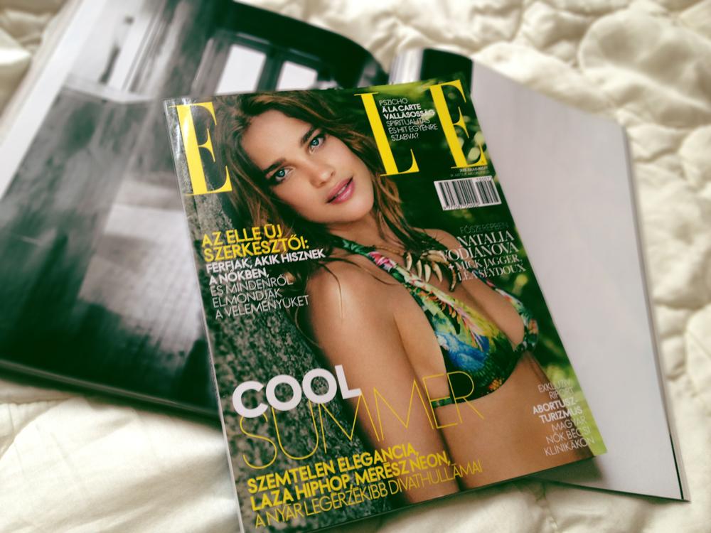 Júliusi ELLE magazinban