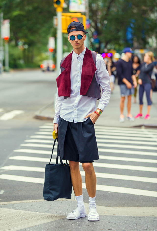 ◄ O U T F I T  2 0 1 4 .0 9 . 1 7 .  NEW YORK FASHION WEEK DAY 1