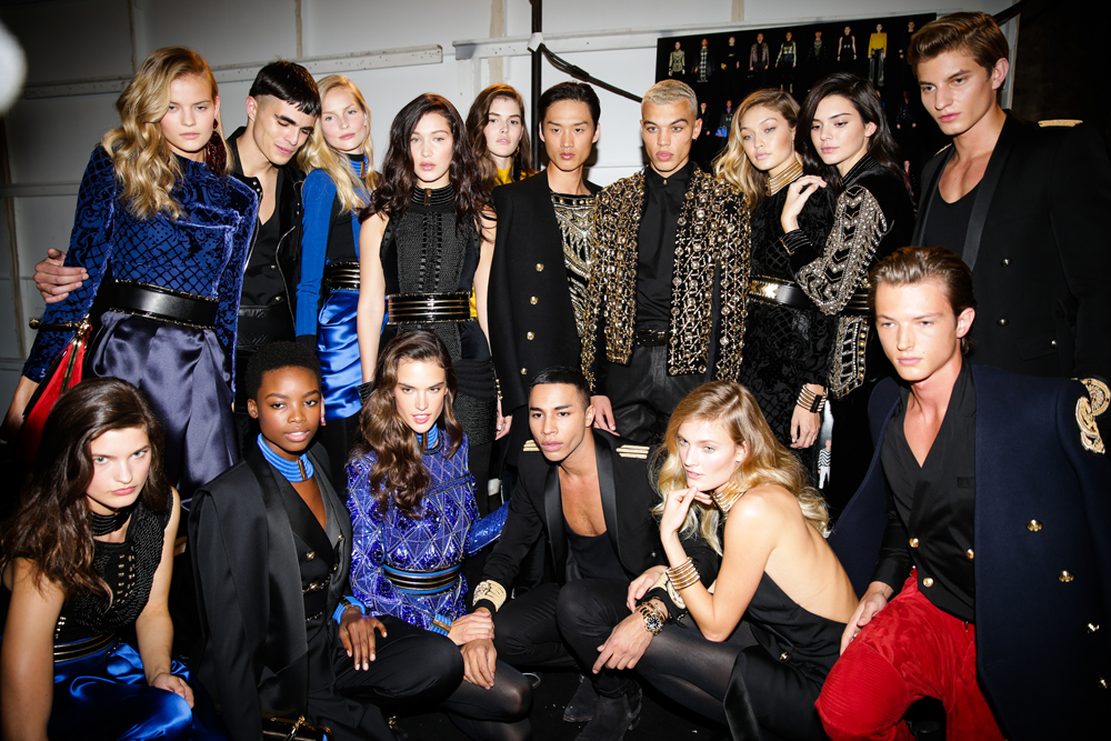 Bemutatták a Balmain x H&M kollekciót New York-ban