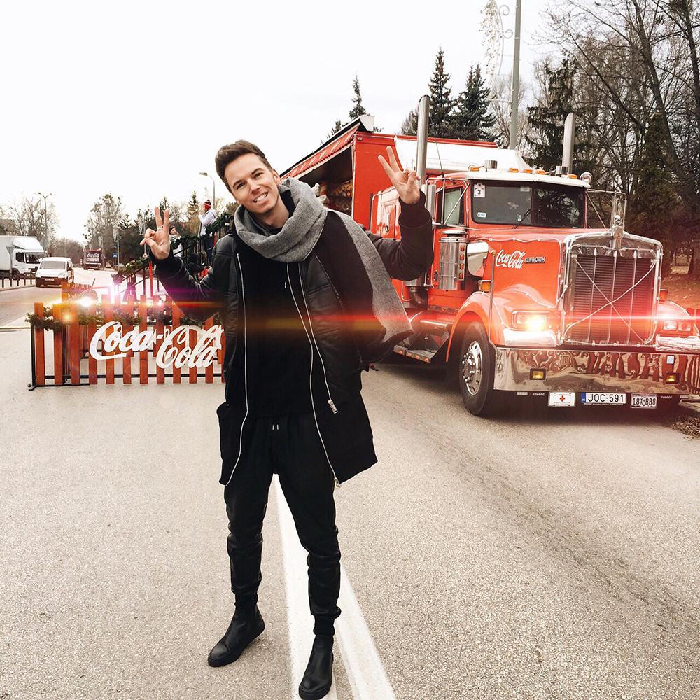 Karácsonyi Coca-Cola karaván