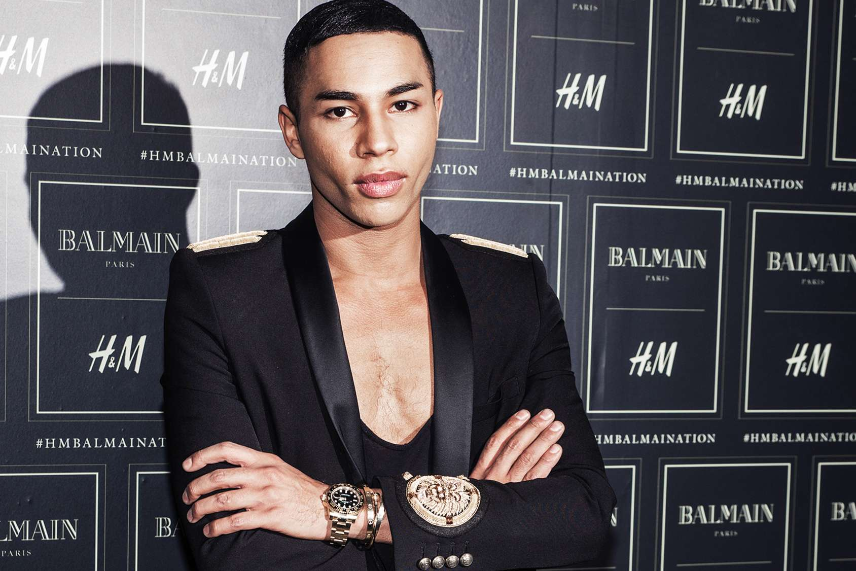 93759a0730b My Interview with Olivier Rousteing creative director of Balmain ...