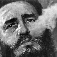 Fidel Castro szivar nélkül…