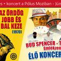 Nyerj páros belépőt! Bud Spencer emlékprogram vetítéssel és koncerttel