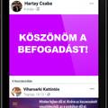 Könyvkritika: Hartay Csaba: Köszönöm a befogadást! - Viharsarki kattintós (2019)