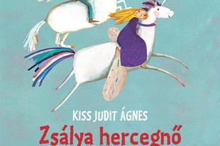 Könyvkritika - Kiss Judit Ágnes: Zsálya hercegnő és az öregnek hitt herceg (2020)