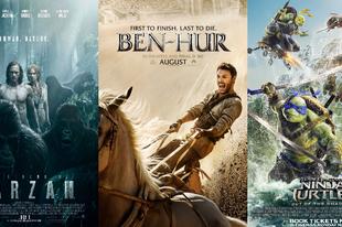 Villámkritikák: Ben-Hur (2016), Tarzan legendája (2016), Tini Nindzsa Teknőcök 2: Elő az árnyékból (2016)