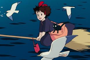 Kiki - A boszorkányfutár / Majo no Takkyuubin (1989)