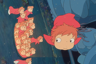 Ponyo a tengerparti sziklán / Gake no Ue no Ponyo (2008)