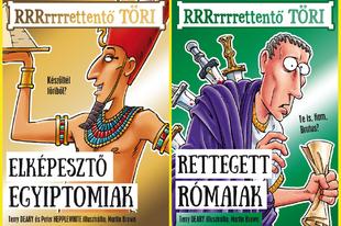 Könyvkritika – A RRRrrrrettentő TÖRI-sorozat első két kötete (2019 & 2020)