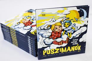 Könyvkritika: Tóth Anikó Dóra: Puszimanók (2018)