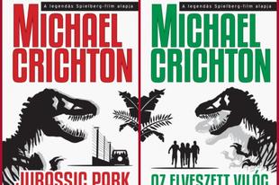 Könyvkritika – Michael Crichton: Jurassic Park & Az elveszett világ (2015)