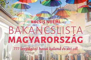 Könyvkritika – Kocsis Noémi: Bakancslista – Magyarország (2020)