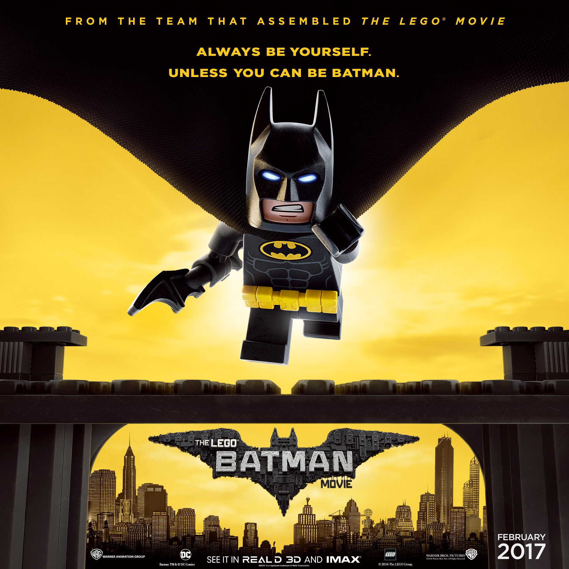 In the irreverent spirit of fun that made The LEGO Movie a worldwide phenomenon the selfdescribed leading man of that ensemble LEGO Batman