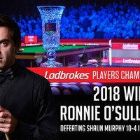 Ronnie O'Sullivan nyerte a Players Championshipet!