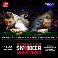 2018 Romanian Snooker Masters holnaptól