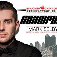 Mark Selby a China Open 2018 bajnoka