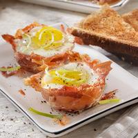 Kívül ropogós bacon, belül remegős tojás - Kevés ennél finomabb reggeli van