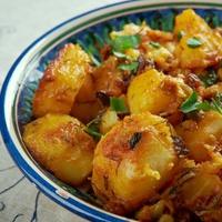 Húsmentes hétfő: libanoni fűszeres sült batáta