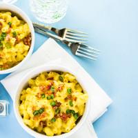 Mac and cheese recept: nagyon sajtos, nagyon krémes tészta