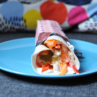 Házi tortilla tekercs ebédre: minden benne van, amire szüksége van a testnek