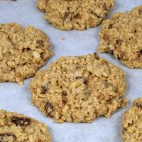 20 perces zabpelyhes-mazsolás keksz- Egyszerre ropogósak és omlósak