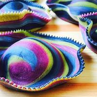 Kézzel készített, szivárványszínű tészták, amiktől garantáltan megjön az étvágyunk