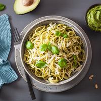 Avokádópestós spagetti: 10 perces, mennyei fogás