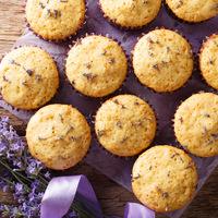 Levendulás-citromos muffin: nyári ízek egy süteménybe sütve
